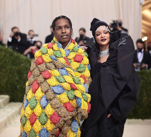 Rapper ASAP Rocky a zpěvačka Rihanna. - Sputnik Česká republika