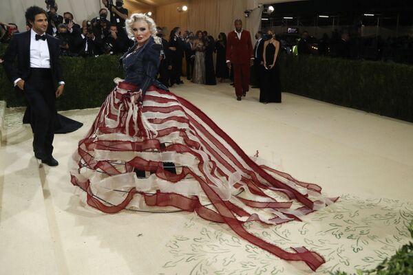 Zpěvačka Debbie Harry  a módní návrhář Zac Posen. - Sputnik Česká republika