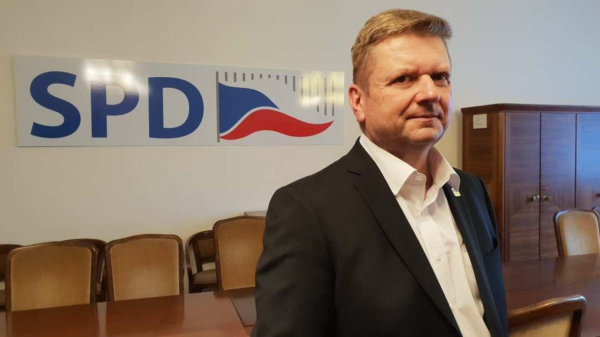 Plk. Radovan Vích, poslanec SPD - Sputnik Česká republika, 1920, 16.09.2021