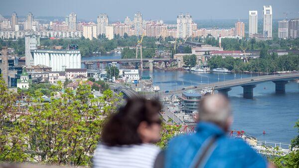 Панорама Киева из парка Владимирская горка - Sputnik Česká republika