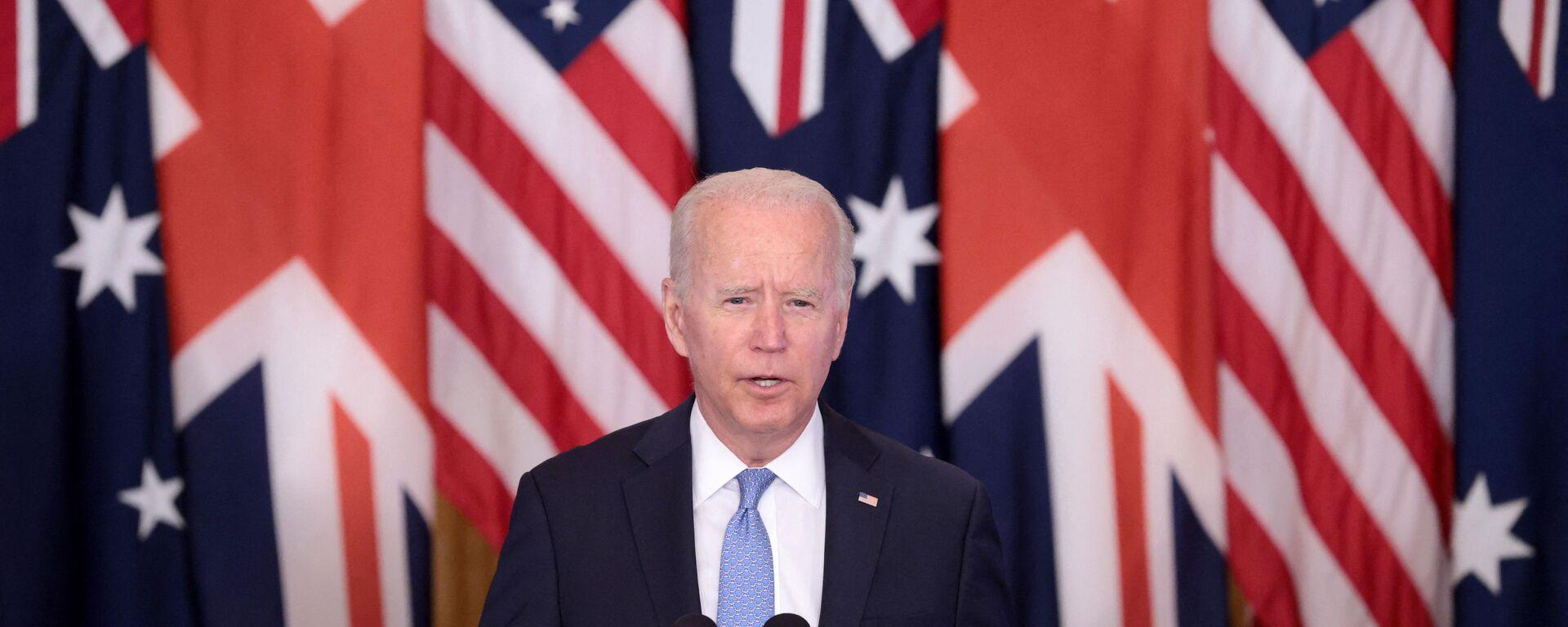 Americký prezident Joe Biden - Sputnik Česká republika, 1920, 19.09.2021