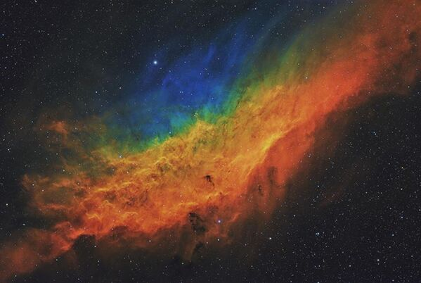 Снимок California Dreamin' NGC 1499 британского фотографа Terry Hancock, ставший победителем в категории Stars and Nebulae конкурса Royal Observatory's Astronomy Photographer of the Year 13 - Sputnik Česká republika