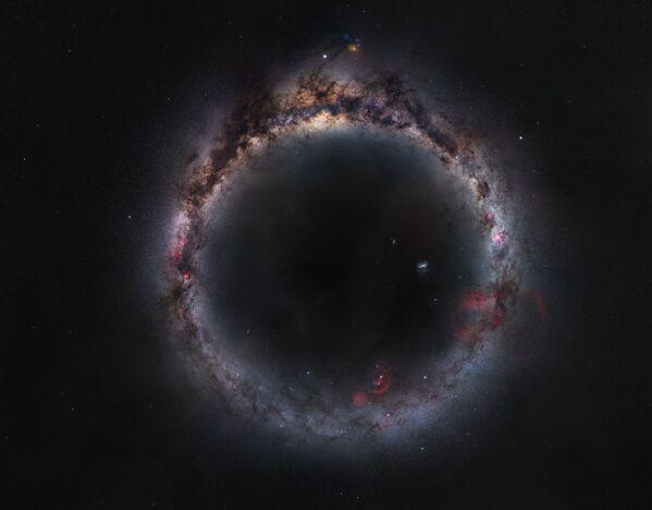 Fotografie Milky Ring čínského fotografa Zhong Wu. Vítěz v kategorii Galaxies soutěže Royal Observatory's Astronomy Photographer of the Year 13 - Sputnik Česká republika