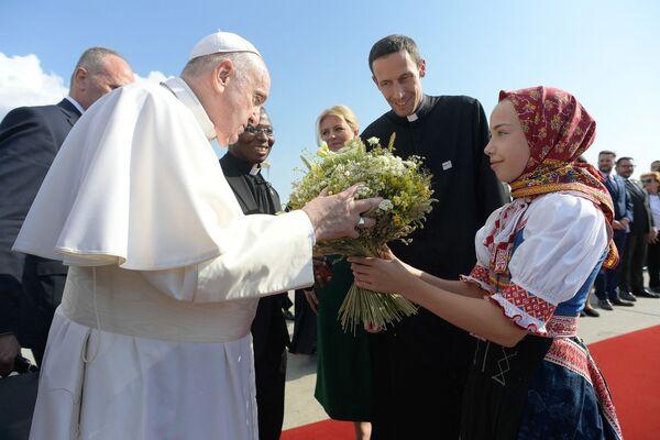 Papež František na Slovensku (12. září). - Sputnik Česká republika
