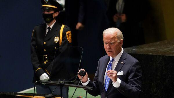 Prezident USA Joe Biden  - Sputnik Česká republika