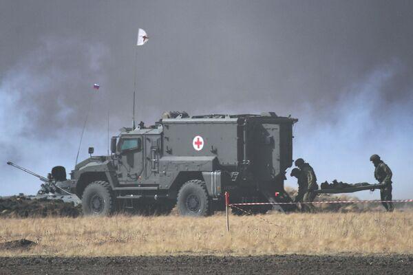 Vojáci na protiteroristických cvičeních - Sputnik Česká republika