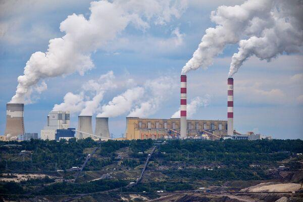 Bełchatówská tepelná elektrárna v Polsku - Sputnik Česká republika