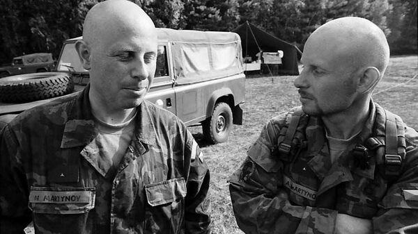 Николай Мартынов с братом-близнецом Александром - Sputnik Česká republika