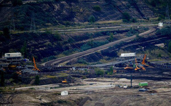 Uhelný důl Bełchatówské tepelné elektrárny - Sputnik Česká republika
