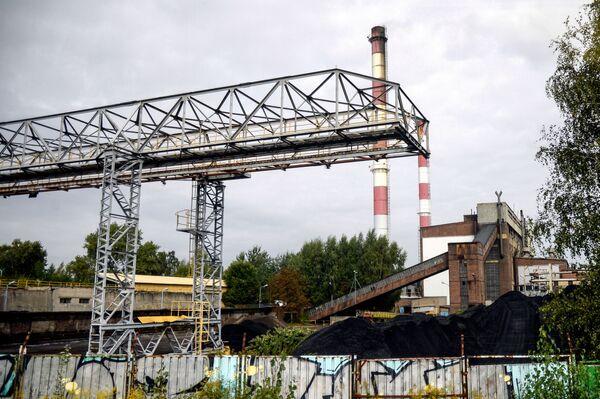 Hutní závod energetické společnosti Dalkia v polských Katovicích - Sputnik Česká republika