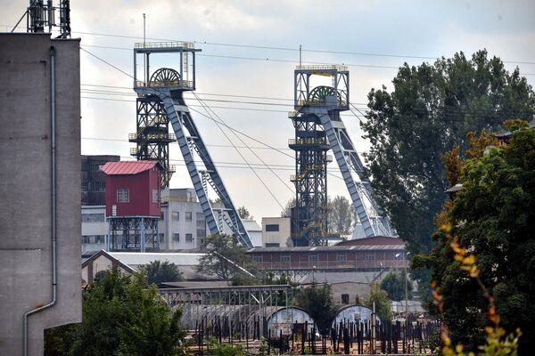 Uhelný důl Weglokoks v Bytomu v Polsku - Sputnik Česká republika