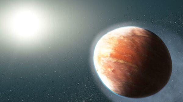 Художественное представление адской планеты WASP-121b - Sputnik Česká republika