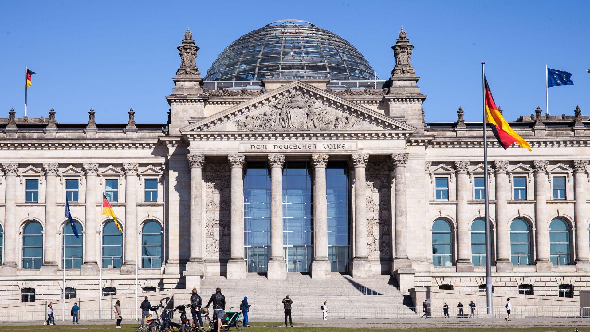 Historická budova Spolkového sněmu v Berlíně - Sputnik Česká republika, 1920, 27.09.2021
