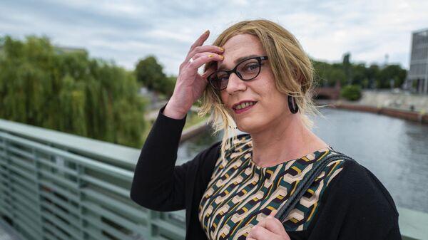 Kandidátka za stranu Zelených Tessa Gansererová - Sputnik Česká republika