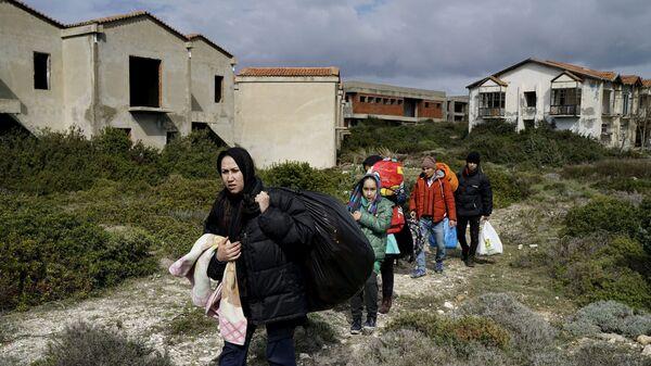 Afghánští uprchlíci - Sputnik Česká republika