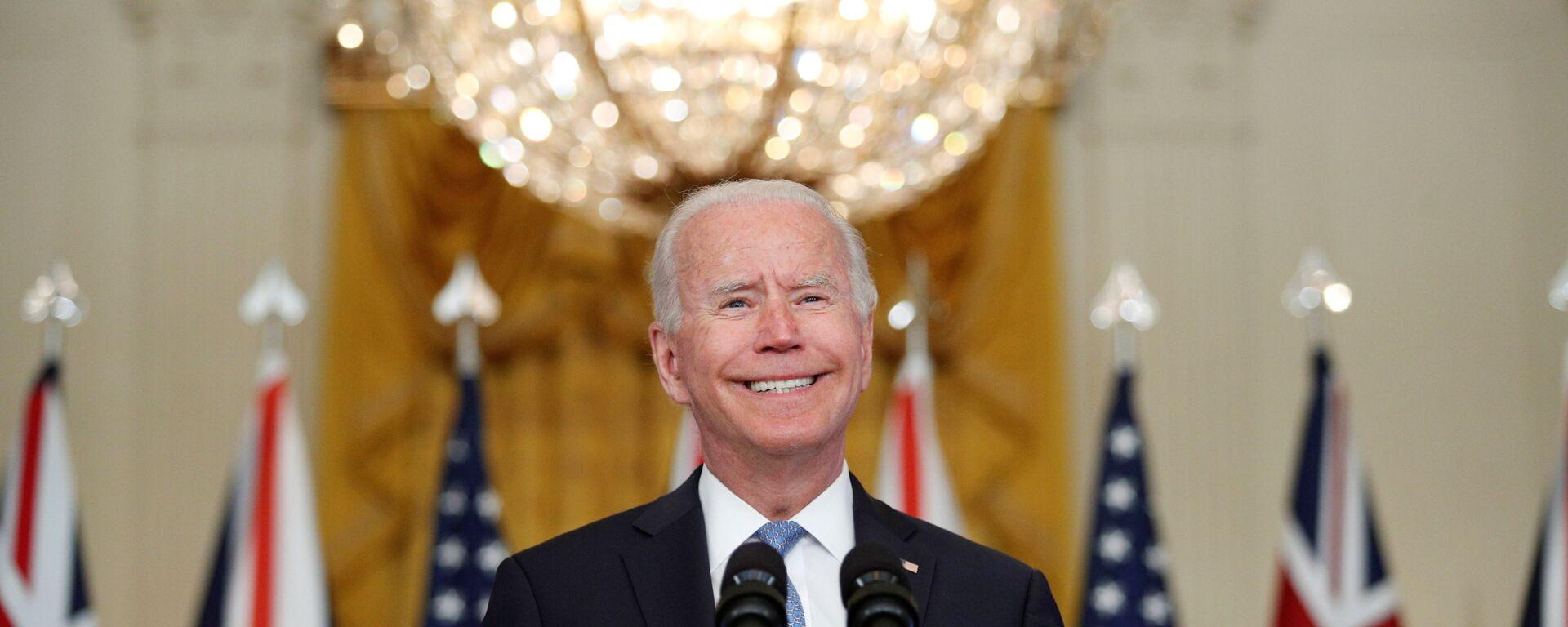 Americký prezident Joe Biden - Sputnik Česká republika, 1920, 29.09.2021