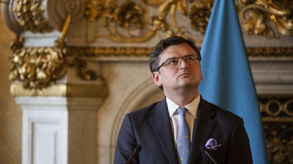 Ukrajinský ministr zahraničí Dmytro Kuleba  - Sputnik Česká republika