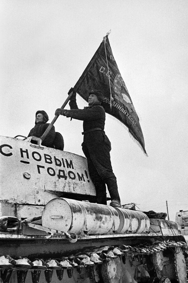 Příslušníci tankových vojsk. 31. prosince 1941. - Sputnik Česká republika
