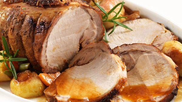 Pečené vepřové maso s bramborami - Sputnik Česká republika