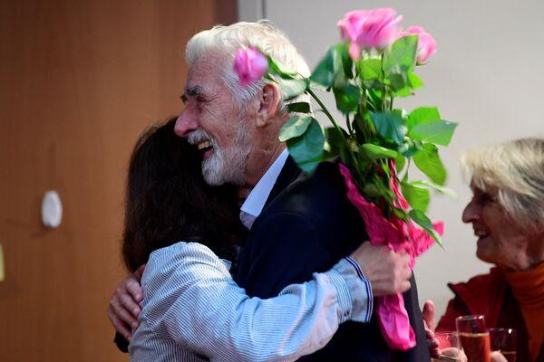 Laureát Nobelovy ceny za fyziku Klaus Hasselmann (Německo) 2021 - Sputnik Česká republika