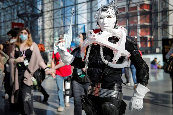 Další zajímavý kostým účastníka festivalu Comic Con. - Sputnik Česká republika