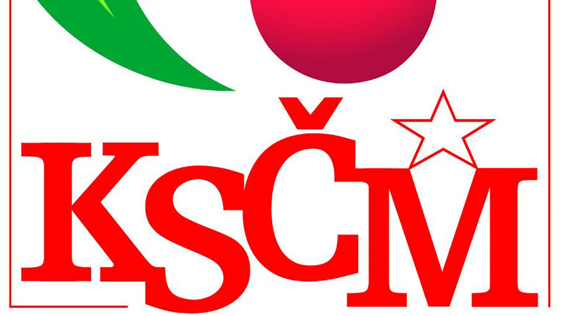Logo KSČM - Sputnik Česká republika, 1920, 12.10.2021