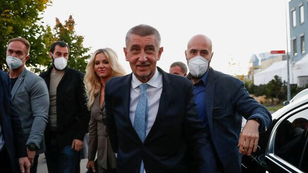 Předseda vlády České republiky a lídr strany ANO Andrej Babiš - Sputnik Česká republika