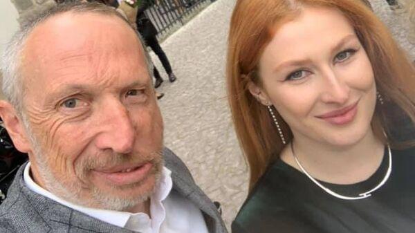 Český politik Václav Klaus mladší se svou dcerou Kateřinou - Sputnik Česká republika