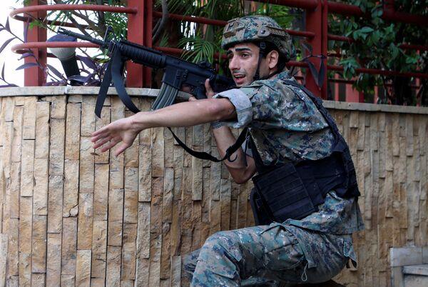 Libanonský voják - Sputnik Česká republika