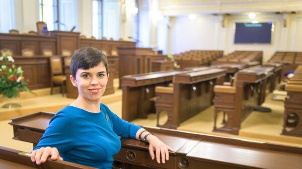 Чешский политик, заместитель председателя Чешской пиратской партии Ольга Рихтерова - Sputnik Česká republika