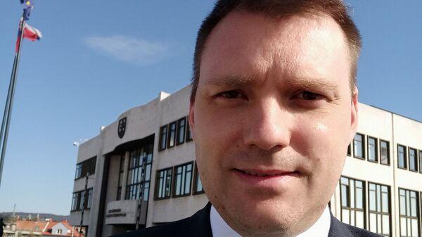 Словацкий депутат Томаш Тараба - Sputnik Česká republika