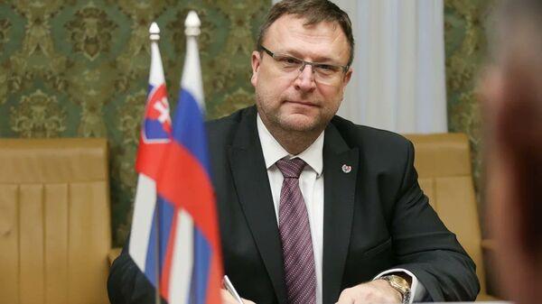 Посол Словакии в России Любомир Рехак - Sputnik Česká republika