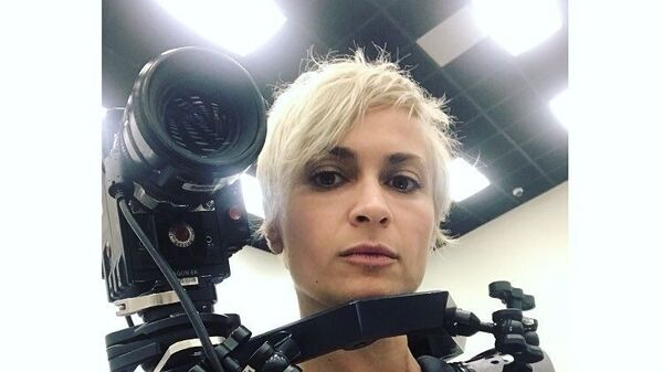 Kameramanka Halina Hutchins - Sputnik Česká republika