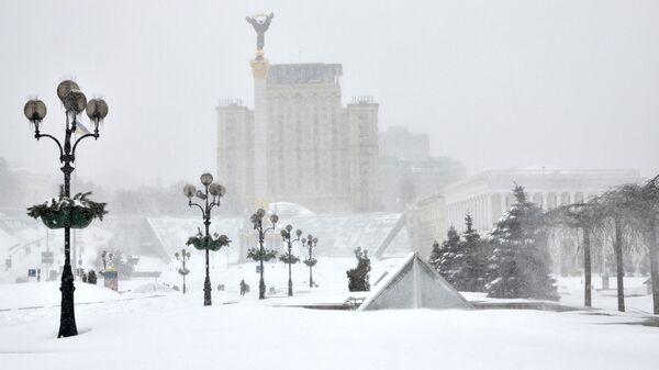 Zimní Kyjev - Sputnik Česká republika