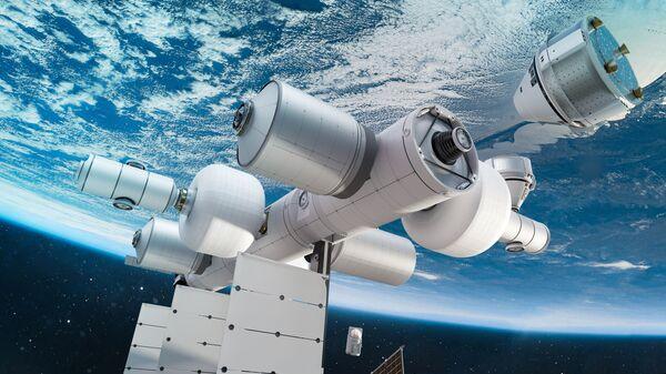 Облик будущей коммерческой космической станции США Orbital Reef - Sputnik Česká republika