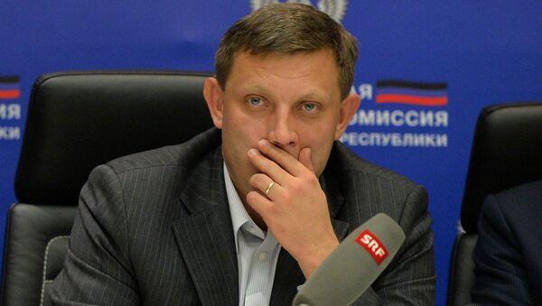 Hlava DLR Alexander Zacharčenko - Sputnik Česká republika