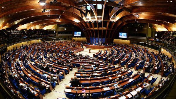 Parlamentní zhromaždění Rady Europy - Sputnik Česká republika