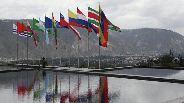 Vlajky členských států UNASUR - Sputnik Česká republika