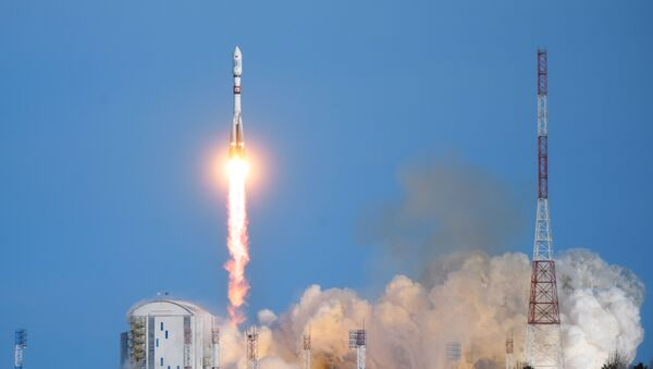 Start rakety Sojuz 2  - Sputnik Česká republika