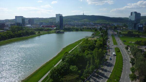 Jezero Kuchajda v Bratislavě na Slovensku - Sputnik Česká republika