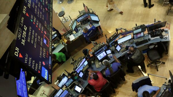 Newyorská bruza cenných papírů. Ilustrační foto - Sputnik Česká republika