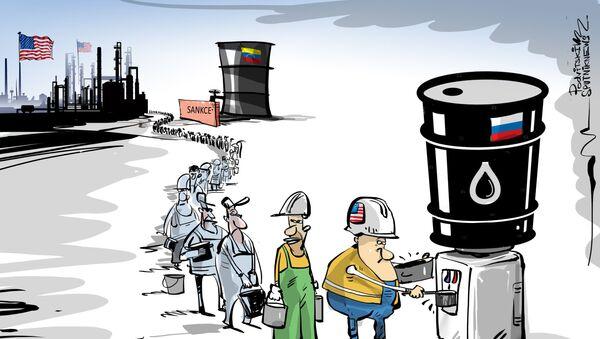 Sankce zvlášť, ropa zvlášť - Sputnik Česká republika