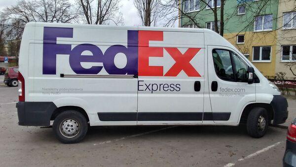 Vůz společnosti FedEx - Sputnik Česká republika