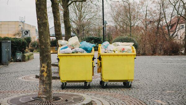 Kontejnery  na odpad v Německu  - Sputnik Česká republika
