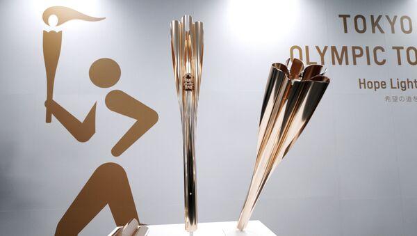 Symboly Letních olympijských her 2020 v Tokiu - Sputnik Česká republika