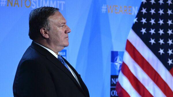 Americký ministr zahraničí Mike Pompeo - Sputnik Česká republika