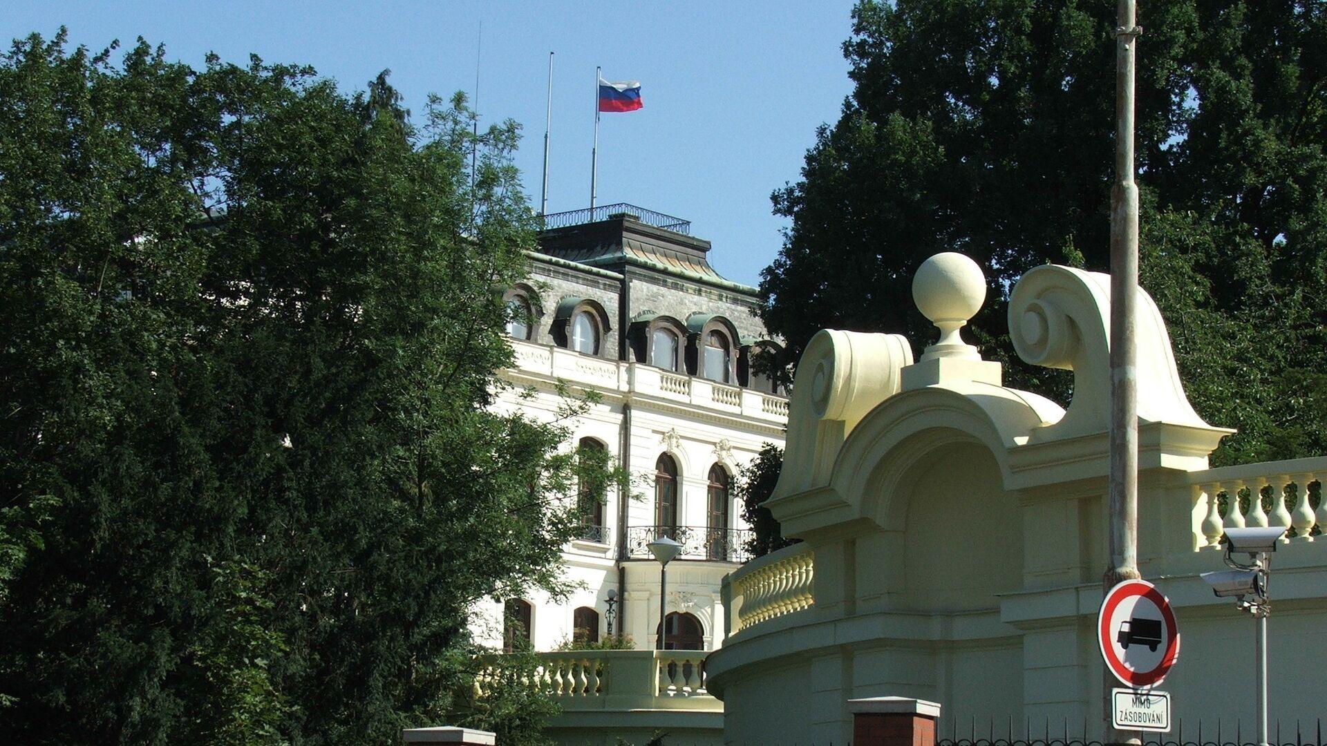 Ruské velvyslanectví v Praze - Sputnik Česká republika, 1920, 20.04.2021