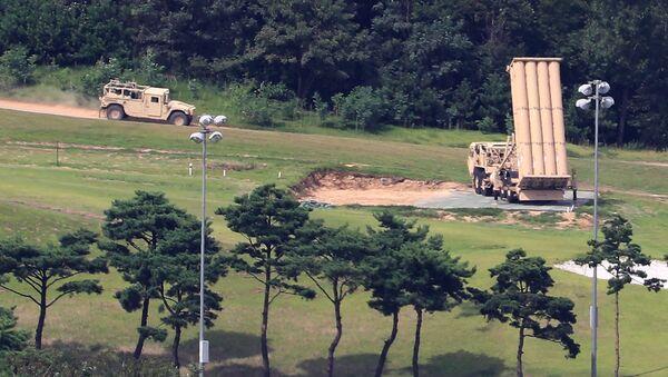 Americká baterie THAAD v Jižní Koreji - Sputnik Česká republika