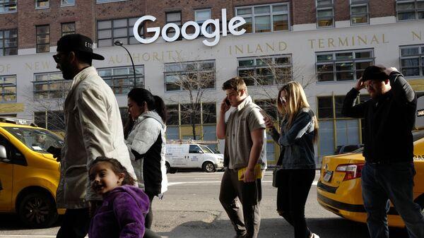 Kancelář Google v New Yorku - Sputnik Česká republika