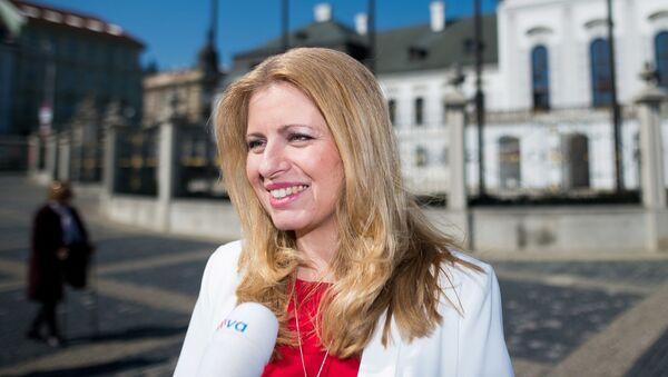 Prezidentka SR Zuzana Čaputová - Sputnik Česká republika